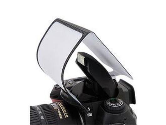 Universal pop-up difusor de flash pantalla duro para DSLR Canon Nikon Pentax Reino Unido Stock
