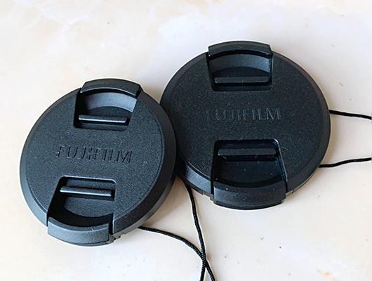 52mm lenscap LC-52 Centro Pizca Tapa frontal del objetivo para FUJI Fujifilm logotipo Reino Unido Stock
